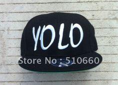 """You Only Live Once"" YOLO Baseball Snapbacks Hats 20pcs/lot Free Shipping Brand New on AliExpress.com. $119.00"