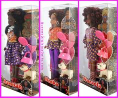 Check out US website for new collection of Queens of Africa dolls