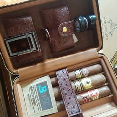 The most amazing cigar case! #cigarstar