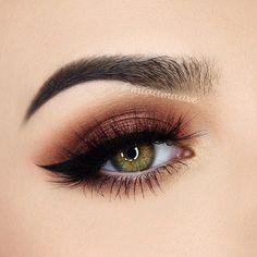 Maravilhosa @miaumauve ❤️❤️❤️ ----------- Amazing makeup by @miaumauve ❤️❤️❤️