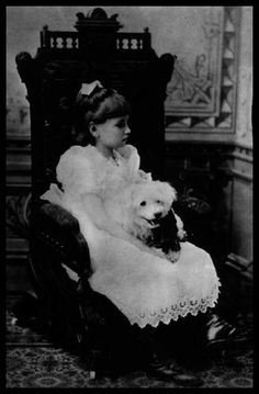 Helen Keller at 7 years old.  She went on to be the first deafblind person to graduate college and write a book.  She even won an Oscar for her documentary in 1954.  Such an amazing woman!