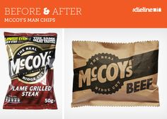 Before & AFter: McCoy's Man Chips by BTL Brands