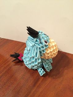 Etsy の 3D Origami Winnie the Pooh by OlygamiCrafts