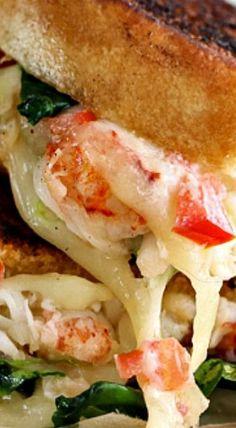 Kennebunkport Lobster Grilled Cheese Sandwich pie, lobster, and cheese, Grilled Sandwich, Best Sandwich, Soup And Sandwich, Sandwich Recipes, Lobster Sandwich, Grilled Lobster, Lobster Dip, Lobster Pasta, Lobster Dinner