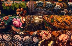Russian scarves