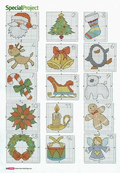 182 - galbut - Picasa Web Albums christmas cross stitch                                                                                                                                                                                 More