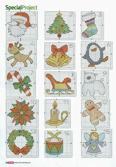 182 - galbut - Picasa Web Albums christmas cross stitch
