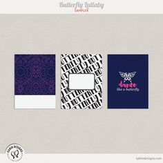 Quality DigiScrap Freebies: Butterfly Lullaby journal cards freebie from Sahin Designs