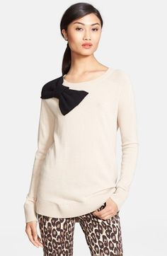 Kate Spade Bow Sweater November 2017