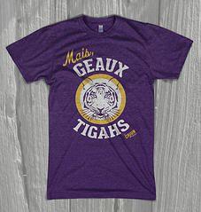 Cajun LSU Shirt $25.00