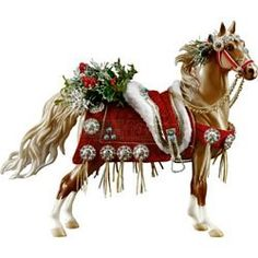 Horses in Christmas Parades | Holiday on Parade 2013 Christmas Horse - Breyer Christmas Horse ...