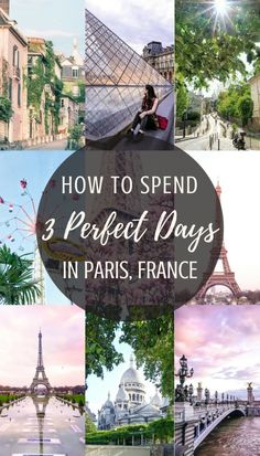 Three Days in Paris France Itinerary: The Perfect 3 Day Guide How to spend three perfect days in Paris, France. A complete guide and itinerary to spending 72 hours in the city of love. Paris France Travel, Paris Travel Guide, Europe Travel Tips, European Travel, Places To Travel, Asia Travel, Travel Destinations, Backpacking Europe, Vacation Travel