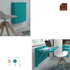 Wardrobe Room, Wardrobe Design Bedroom, Bedroom Decor, Room Door Design, Small Room Design, Tv Wall Design, Wall Dining Table, Fold Away Desk, Space Saving Table