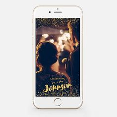 LIMITED TIME! Custom Snapchat Sparkle Gold Wedding Geofilter Photo filter Mr. and Mrs. Wedding filter GeoFilterWedding Geofilter gw74 by JessicaMichaelPrints