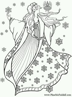 Yule freebies printables crafts and more on pinterest for Winter solstice coloring pages