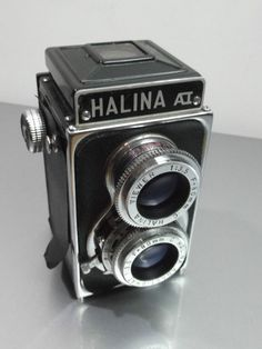 Halina A1 TLR Film Camera