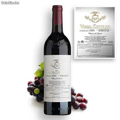 Vega Sicilia (España). Este es un clásico vino español, de la D.O. Ribera del Duero. Se ha llegado a pagar 74.000 dólares por una de sus botellas.