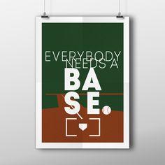 Antje Schaper » EVERYBODY NEEDS A BASE.
