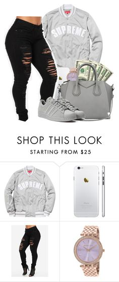 """Supreme"" by heavensincere ❤ liked on Polyvore featuring Michael Kors, Givenchy and adidas"