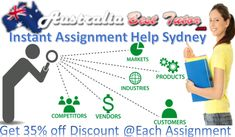 Australia Best Tutor is one of the quickest Instant Assignment Help provider in Sydney Australia for all Universities and colleges students. Here all students are ordered for best grades and better results.