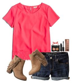 """""""~i love my bestie~"""" by simply-natalee ❤ liked on Polyvore featuring J.Crew, American Eagle Outfitters, NARS Cosmetics, Bobbi Brown Cosmetics, Urban Decay and maurices"""