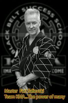 A True Leader Master Instructor Mr Fari Salievski is more than just the head of KMA schools