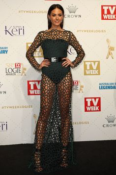 Jesinta Campbell | Here's What Everyone Wore To The 2016 Logies