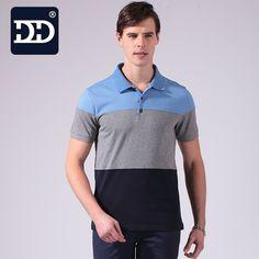DD Brand Men's Polo Shirts Soft Cotton Short Sleeve