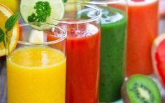 Os benefícios dos sucos naturais