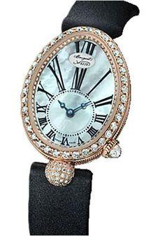 Breguet - Reine de Naples 24.95mm X 33mm - Rose Gold Watch 8928BR/51/844.DD0D