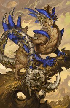 2015 Zodiac Dragons Scorpio, Christina Yen on ArtStation at http://www.artstation.com/artwork/2015-zodiac-dragons-scorpio