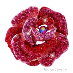 Cheap brooch for wedding dress, Buy Quality brooch korea directly from China brooch making Suppliers:           Free shipping--Multicolor Gold plated Crystal rhinestone Luxury Big Flower brooches!Wholesale B229