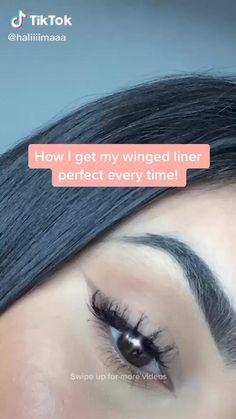 Makeup Eye Looks, Simple Eye Makeup, Natural Eye Makeup, Skin Makeup, Makeup Art, Makeup Tips, Makeup Ideas, Eyeliner Makeup, Easy Makeup