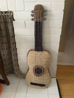 Guitar pillow!