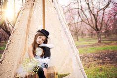 birthday celebrations, lace tent, birthday photo shoot