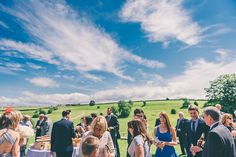 Kingscote Barn Wedding Photography - Summer Wedding in the Cotswolds - Blue Sky Gardens