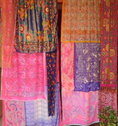 SUMMER BREEZE Handmade Gypsy Curtains by BabylonSisters on Etsy