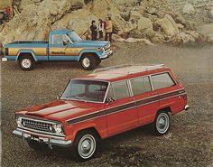 1977 Jeep Wagoneer and Jeep J-10 Honcho Pickup
