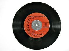 """1967 Junior Samples novelty comedy record. Samples was a regular on the country-western TV show Hee Haw. Each side of this 45 RPM feature an interview with the comedian, including """"World's Biggest Whopper"""" and """"It Happene..."""