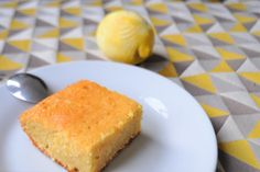 Semolina Cake Lemon Vegan