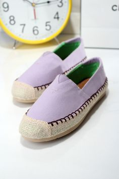 NEW women shoes candy color fresh pedal canvas flat heel casual shoes comfortable candy shoes sneakers high quality 5 $57.80
