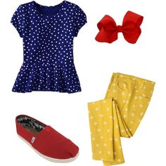 Snow White Inspired Outfit for Callie