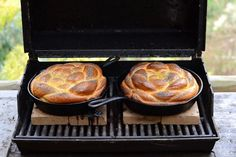 Challah bread, On the Grill!  Please, can I commandeer someone's grill to do this? Such a cool idea!