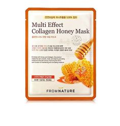 FROM NATURE Collagen Honey Facial Mask Sheet 7pcs Nutrition Korean Cosmetic Pack #FROMNATURE