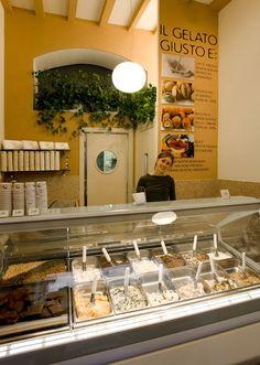 The wondrous Earl Grey Tea ice-cream! The best in #Milan: Gelato Giusto.