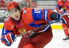 First overall draft pick Nail Yakupov of the Edmonton Oilers
