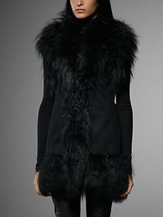 The Fur Coat by Patrizia Pepe