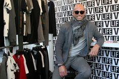 Pitti immagine uomo n.91: Stefano Bettarini ospite di V-Life