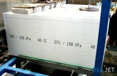Foto: REA JET - Großschrift Tintenstrahldrucker - Kennzeichnung von Styroporplatten