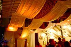 rustic wedding lighting - Google Search